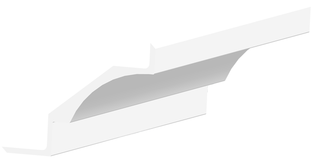 Gesims G35-45 konkav
