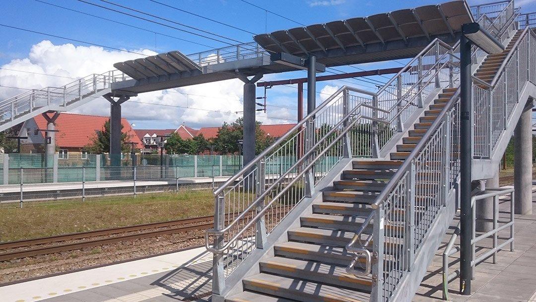Trappetrin til Tinglev Station billede 1