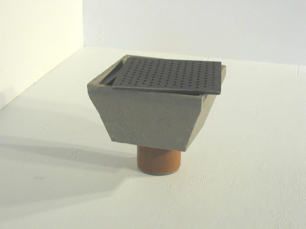 Afløbsskål P1 til landbrug og industri - Polysan polymerbeton