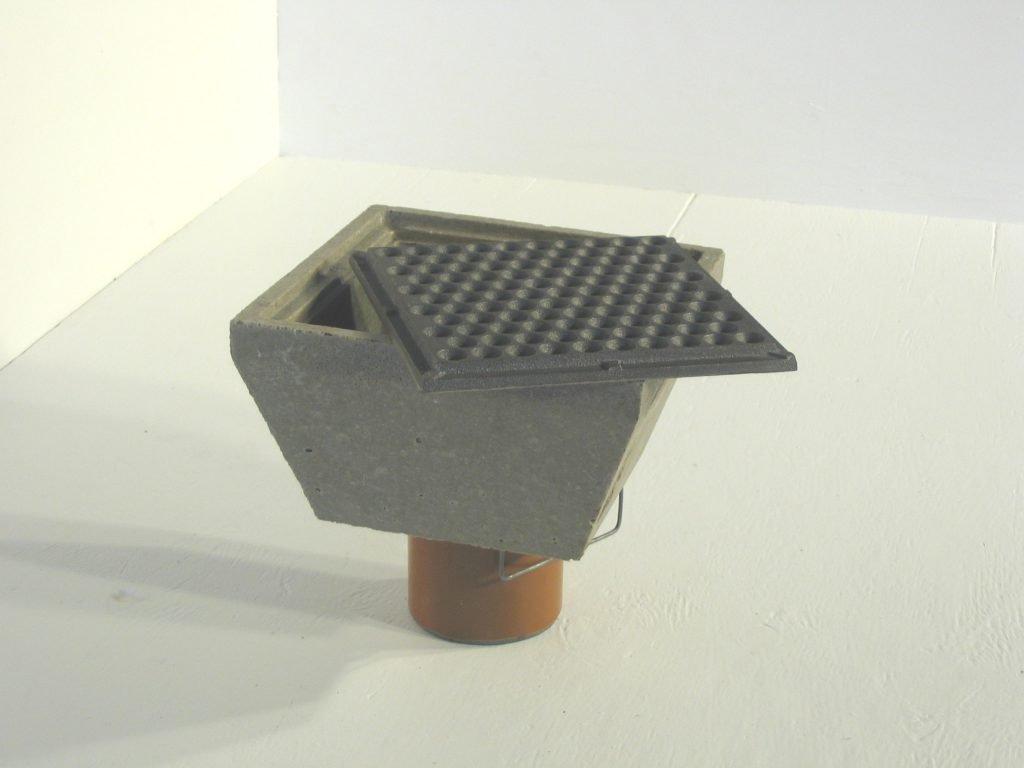 Afløbsskål P2 til landbrug og industri - Polysan polymerbeton
