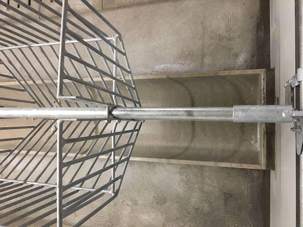 Beton syresikring overblik fra oven
